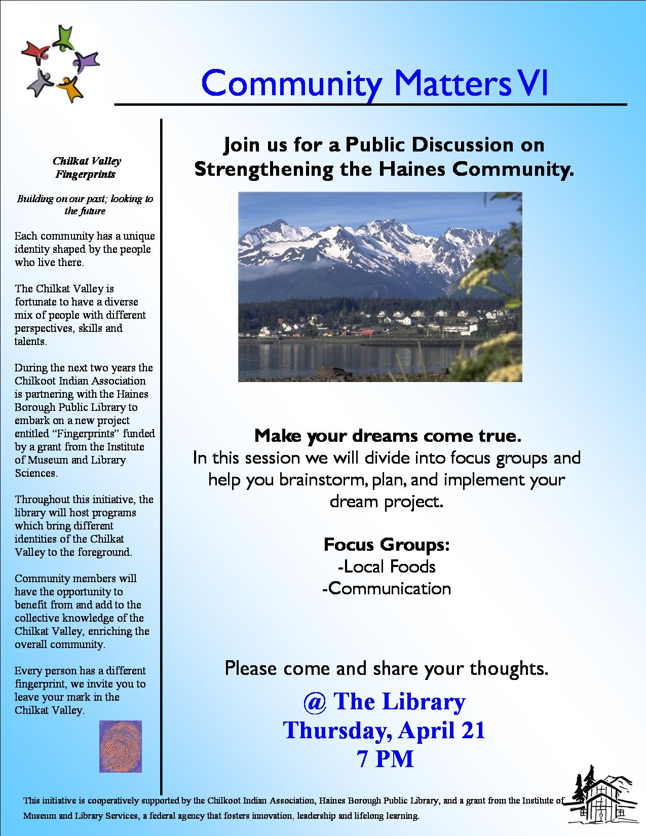Programs and Events Archive | Haines Borough Public Library